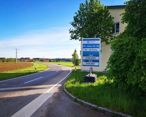 Radweg Sankt Georgen Anning Traunreut