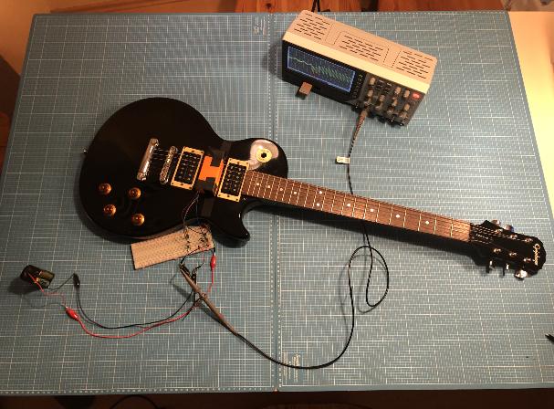 Traunreut, Lightning Guitar