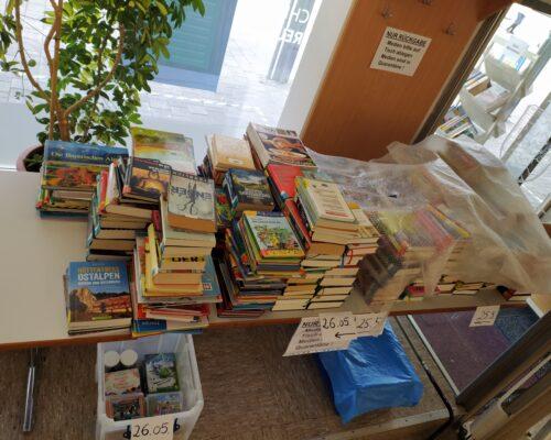 Rückgabetisch Bücherei Traunreut