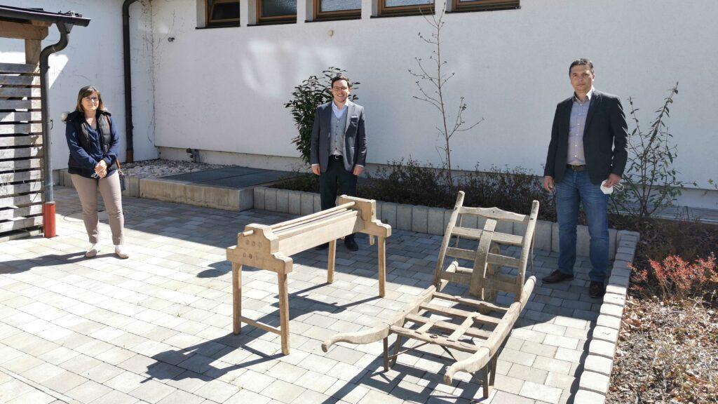 Präsentation Archivgüter Sonnenschule