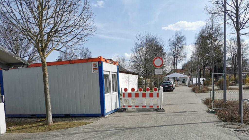 Schnelltestzenrum Traunreut