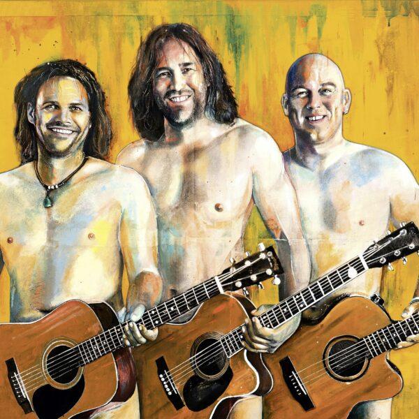 "k1  |  ""Oana muass ja macha "" | 3 Männer nur mit Gitarre"