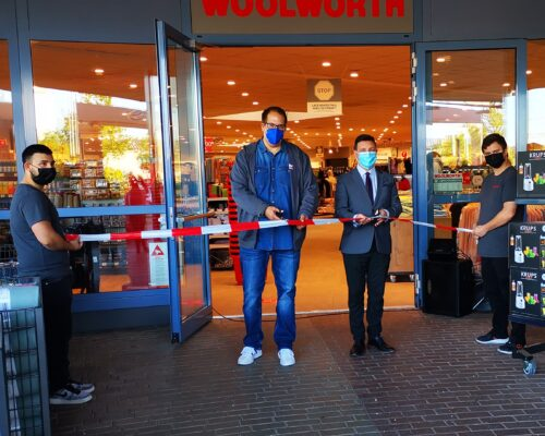 Eröffnung Woolworth Filiale Traunreut Hans-Peter Dangschat