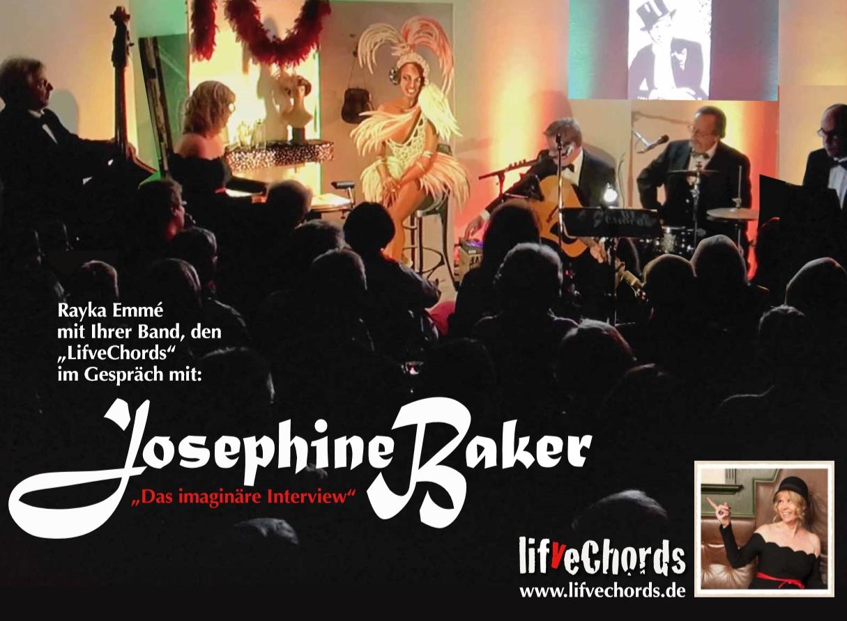 The Spirit of Josephine Baker – Konzert der LifveChords