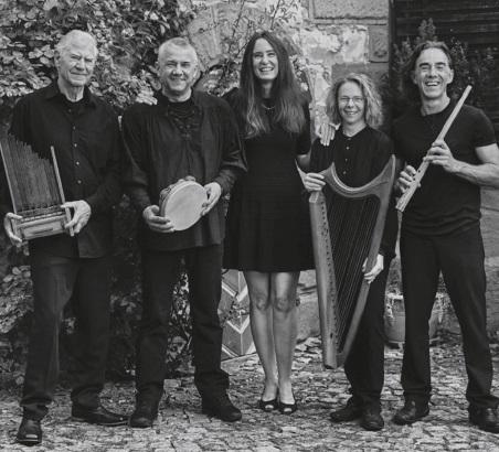 Lesung mit Musik Tanja Kinkel und das Ensemble Capella Antiqua