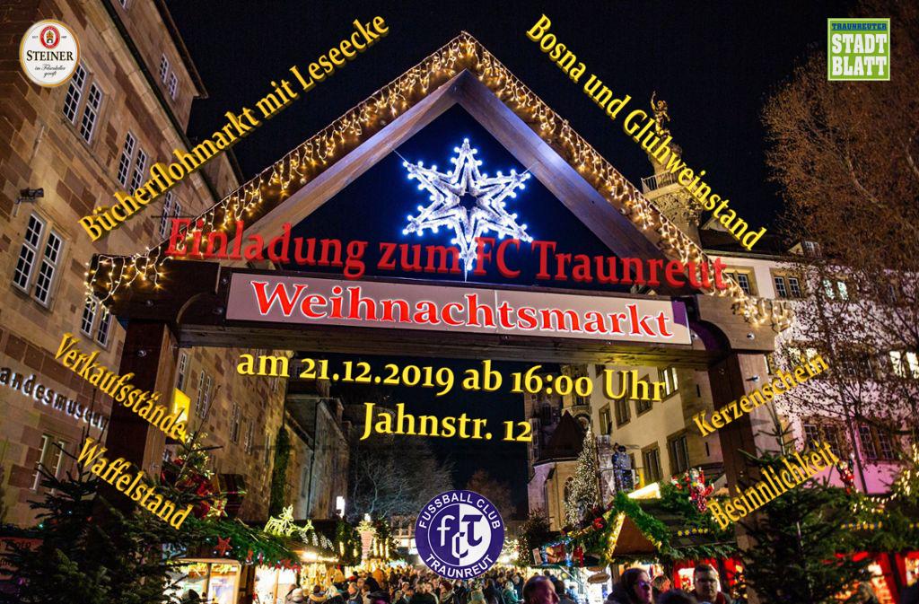 FC Traunreut Weihnachtsmarkt