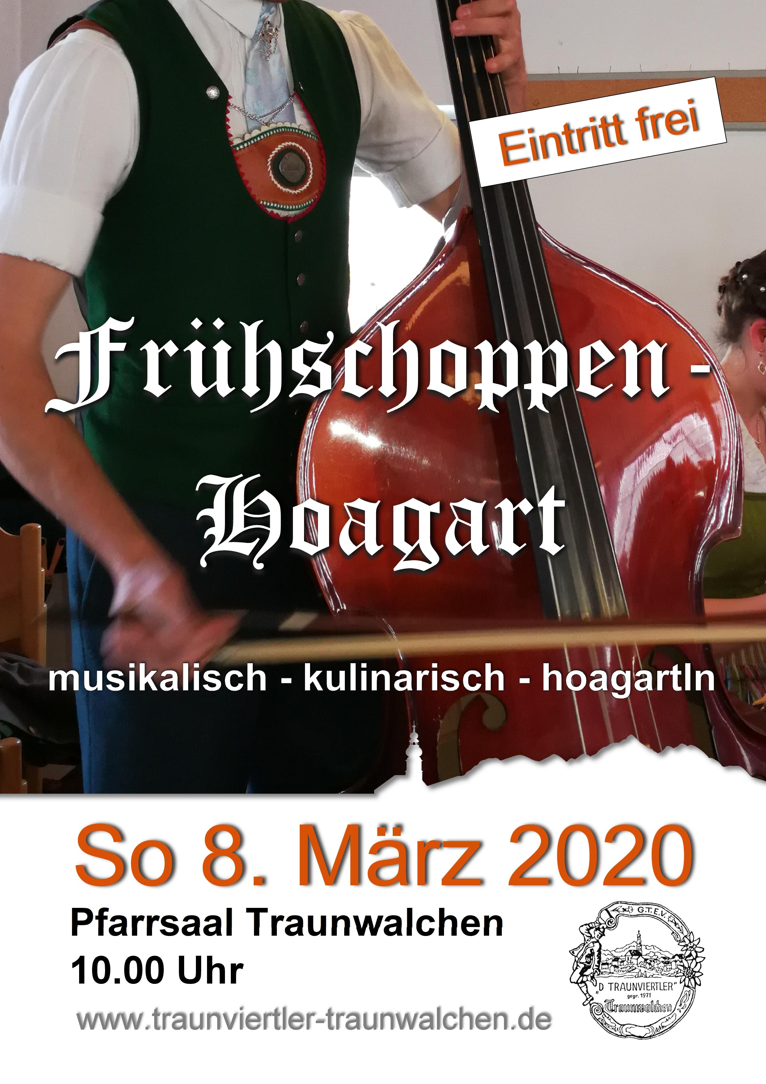 Frühschoppen-Hoagart Traunwalchen