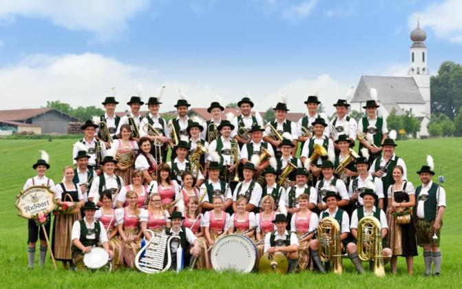 Blaskapellenkonzert der Musikkapelle Nussdorf