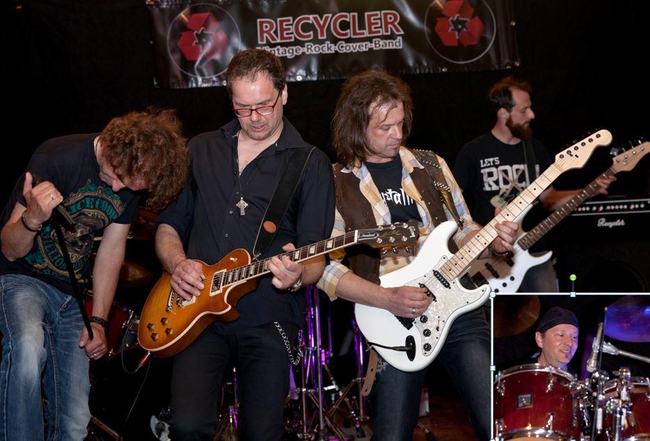 Vorläufig abgesagt! RockFriday – Recycler