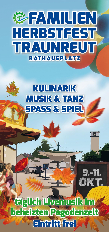 Abgesagt – Familienherbstfest Traunreut