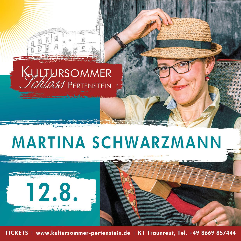 MARTINA SCHWARZMANN – genau Richtig