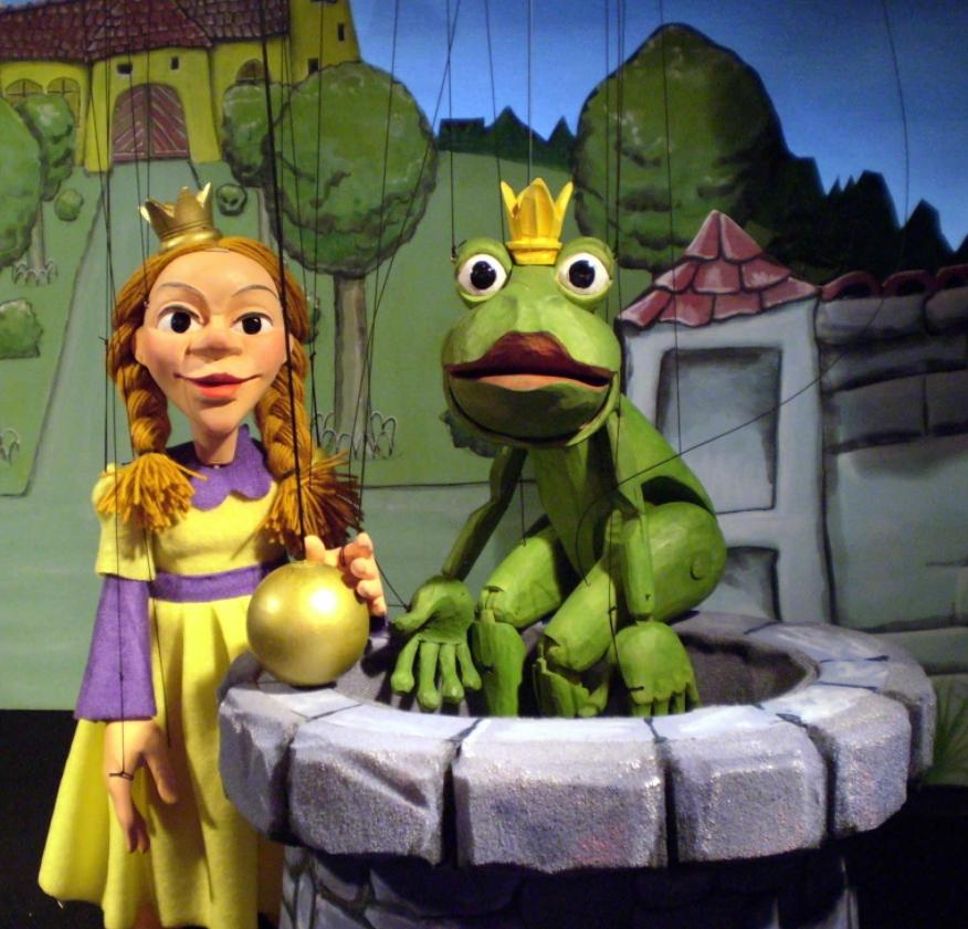 DER FROSCHKÖNIG – Marionettentheater für Kinder ab 3 Jahren