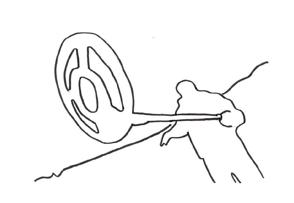 Sondeln mit Metalldetektoren